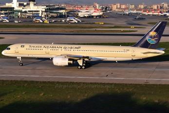 TC-OGS - Saudi Arabian Airlines Boeing 757-200