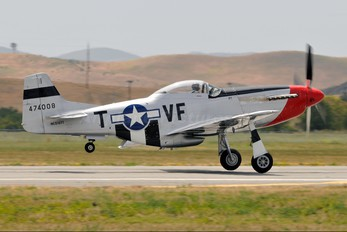 N510TT - Private North American P-51D Mustang