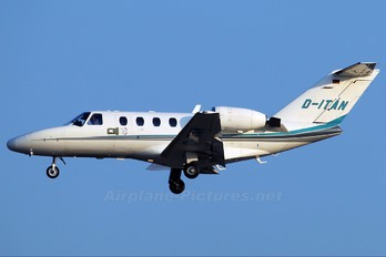 D-ITAN - Private Cessna 525 CitationJet