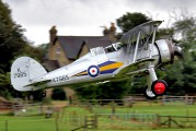 G-AMRK - The Shuttleworth Collection Gloster Gladiator aircraft