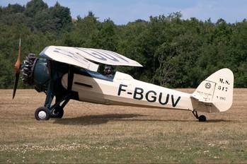 F-BGUV - Private Morane Saulnier MS.317