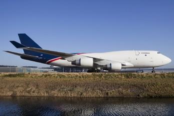 N743WA - World Airways Cargo Boeing 747-400BCF, SF, BDSF