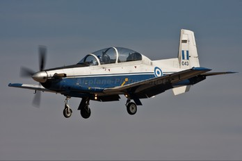 043 - Greece - Hellenic Air Force Hawker Beechcraft T-6A Texan II