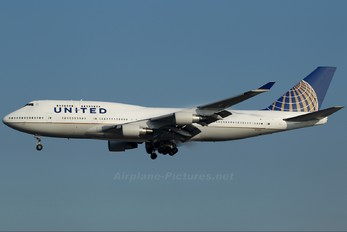 N119UA - United Airlines Boeing 747-400