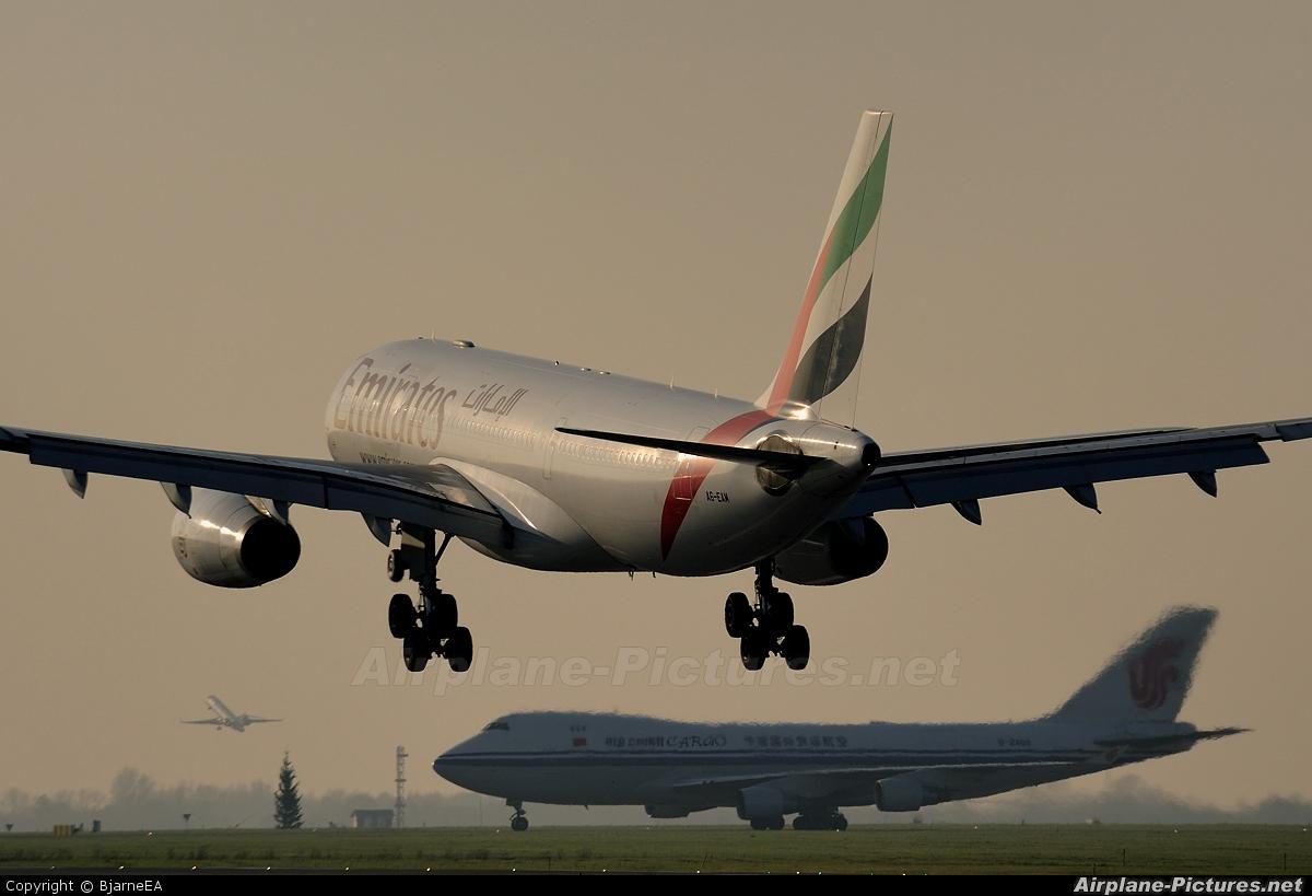 Emirates Airlines A6-EAM aircraft at Copenhagen Kastrup