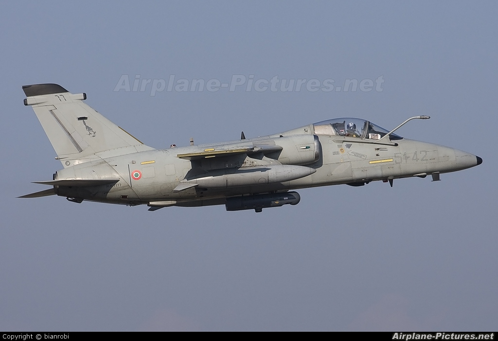 Italy - Air Force MM7177 aircraft at Verona - Villafranca