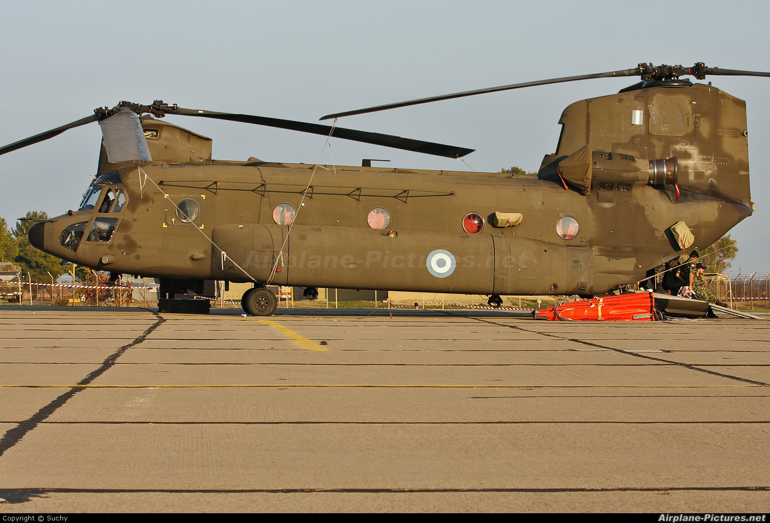 Greece - Hellenic Army ES915 aircraft at Tanagra