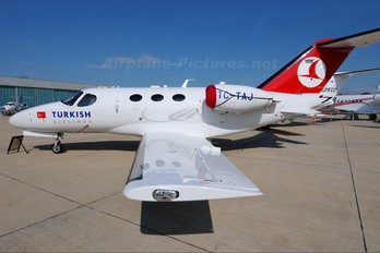 TC-TAJ - Turkish Airlines Cessna 510 Citation Mustang