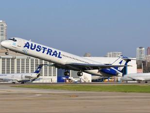 LV-WGN - Austral Lineas Aereas McDonnell Douglas MD-83