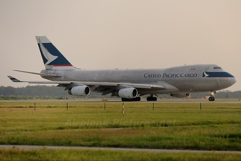 B-HUK - Cathay Pacific Cargo Boeing 747-400F, ERF
