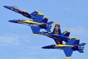 163093 - USA - Navy : Blue Angels McDonnell Douglas F/A-18A Hornet aircraft