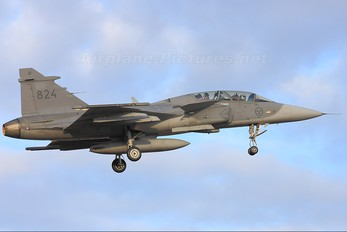 39824 - Sweden - Air Force SAAB JAS 39D Gripen