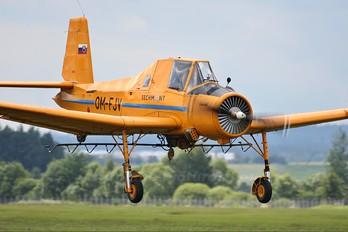 OM-FJV - Techmont Zlín Aircraft Z-37A Čmelák