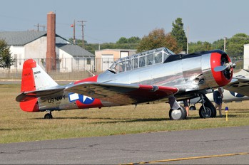 N276RB - Private North American Harvard/Texan (AT-6, 16, SNJ series)