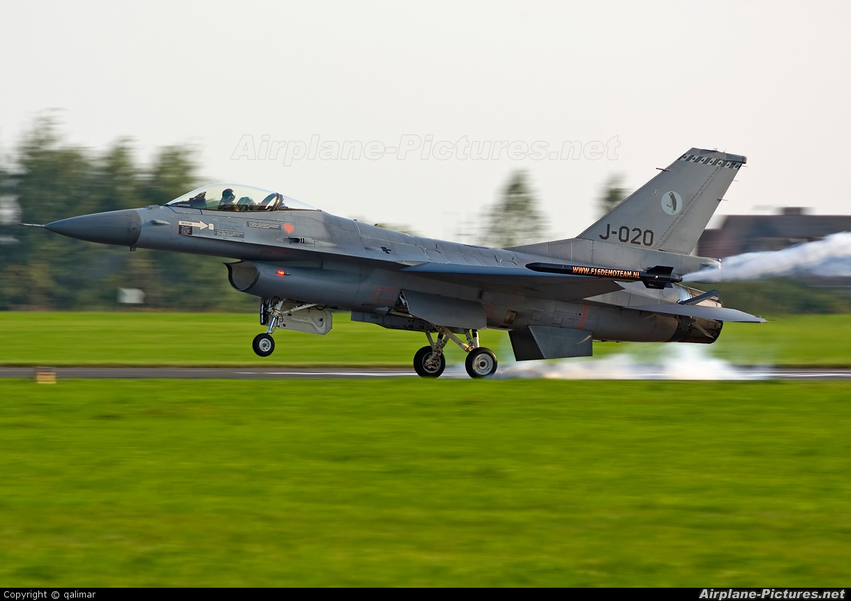 Netherlands - Air Force J-020 aircraft at Radom - Sadków