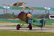 OK-NUL 36 - Letajici Cirkus Sopwith Camel aircraft