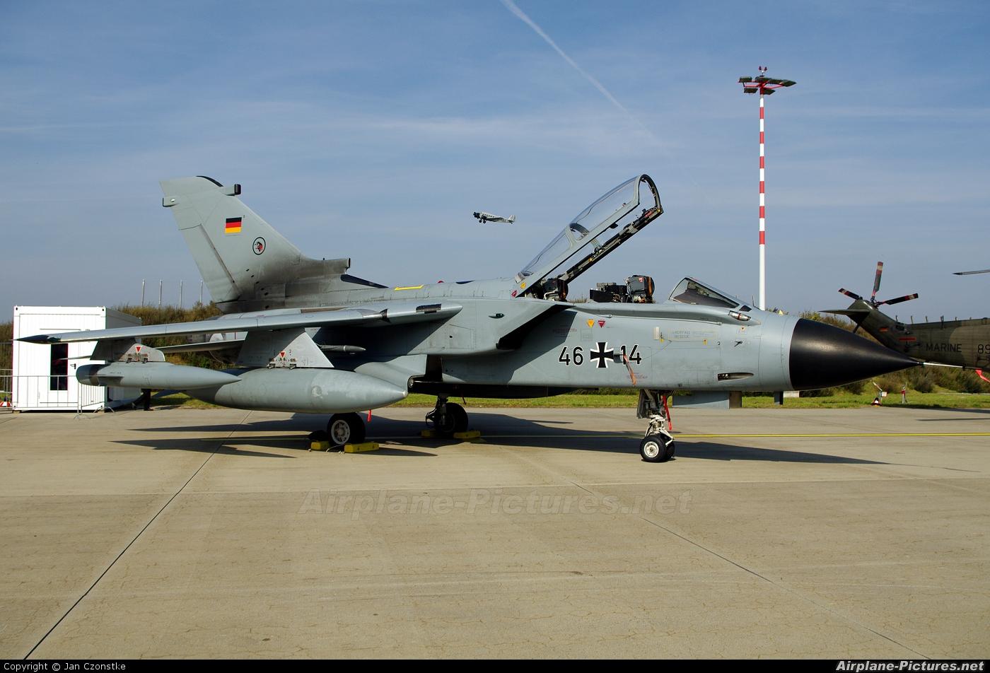 Germany - Air Force 46+14 aircraft at Hamburg - Fuhlsbüttel