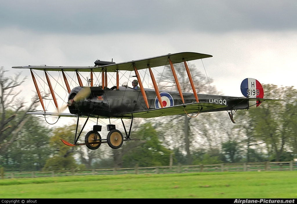 The Shuttleworth Collection G-ADEV aircraft at Old Warden