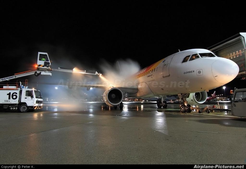 Iberia EC-HKO aircraft at Berlin - Tegel