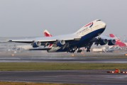 G-BNLP - British Airways Boeing 747-400 aircraft
