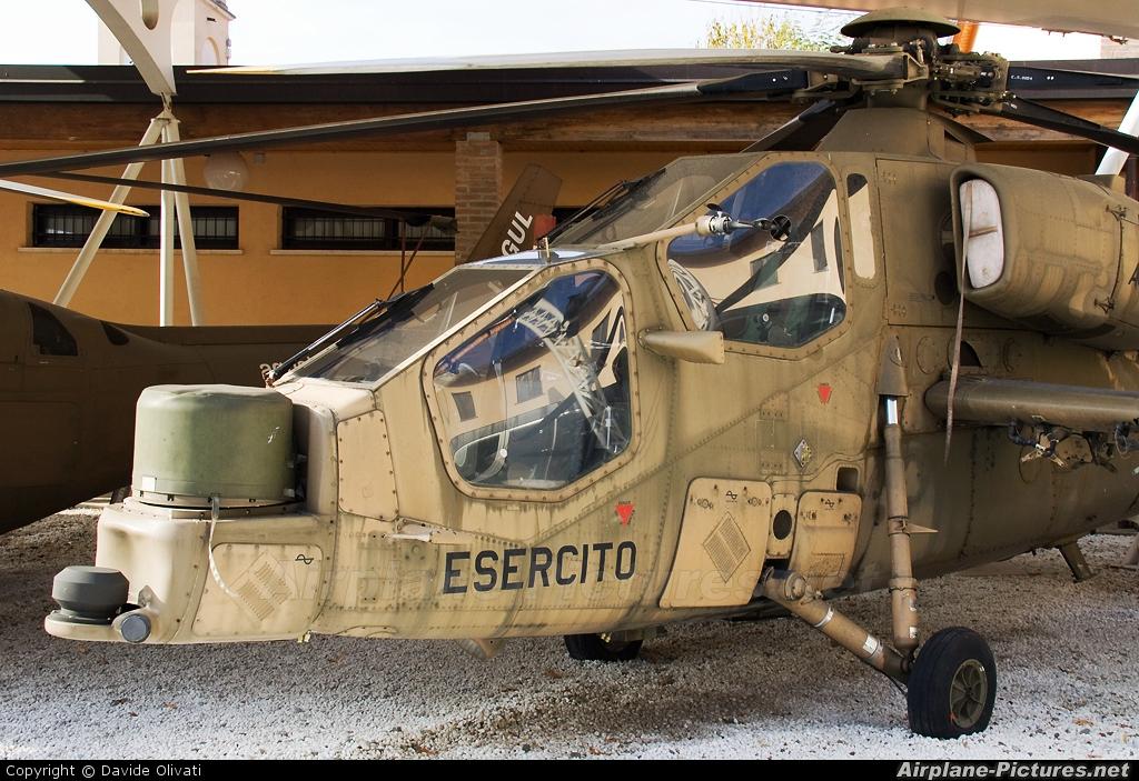 Italy - Army MM598 aircraft at Milan - Agusta Aviation Museum