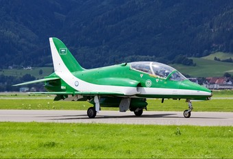 8814 - Saudi Arabia - Air Force: Saudi Hawks British Aerospace Hawk 65 / 65A