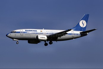 OO-SYK - Sabena Boeing 737-500