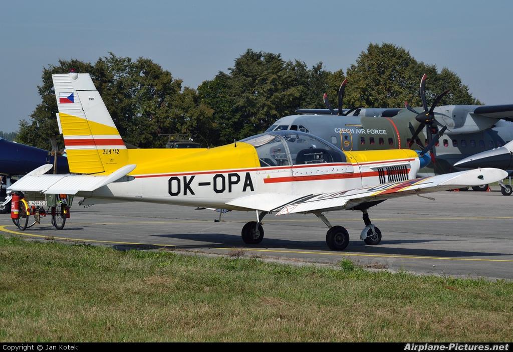 Aeroklub Czech Republic OK-OPA aircraft at Hradec Králové