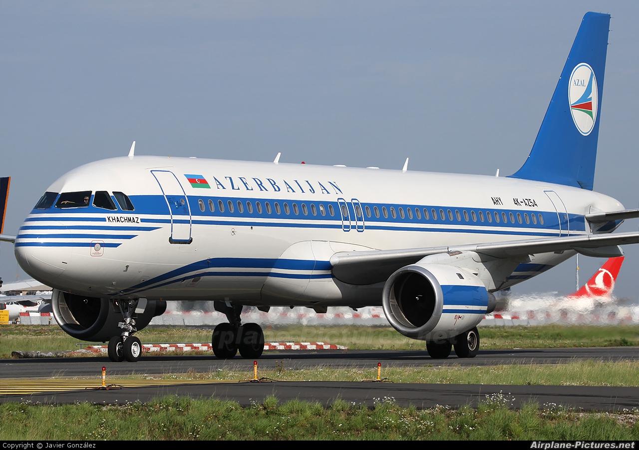 Azerbaijan Airlines 4K-AZ54 aircraft at Paris - Charles de Gaulle
