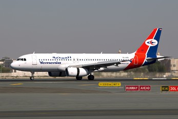 7O-AFB - Yemenia - Yemen Airways Airbus A320