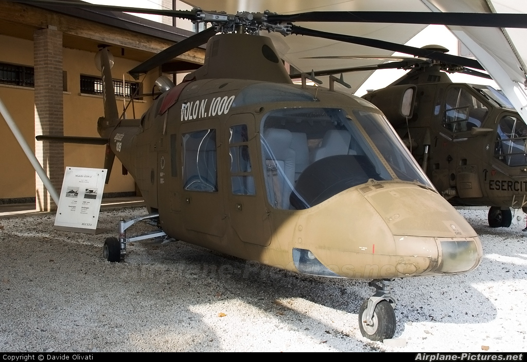 Agusta Westland I-AGUL aircraft at Milan - Agusta Aviation Museum