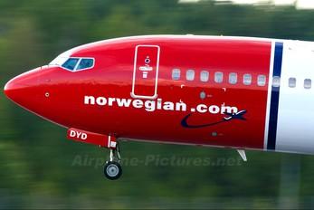 LN-DYD - Norwegian Air Shuttle Boeing 737-800