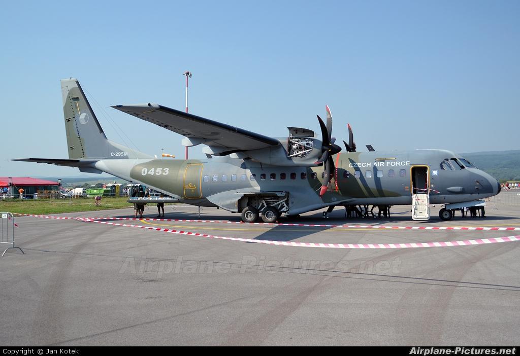 Czech - Air Force 0453 aircraft at Sliač
