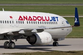 TC-JGC - AnadoluJet Boeing 737-800