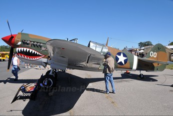 N1232N - Private Curtiss P-40N Warhawk