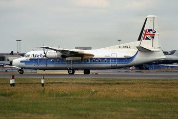 G-BNAL - Air UK Fokker F27