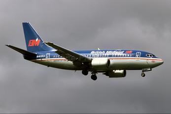 G-BVKA - British Midland Boeing 737-500
