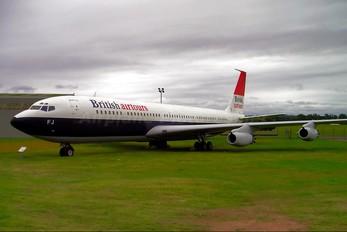 G-APFJ - British Airtours Boeing 707