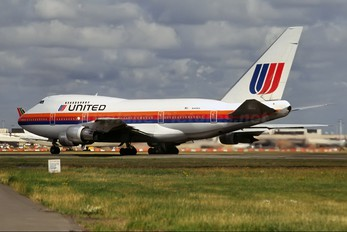 N140UA - United Airlines Boeing 747SP