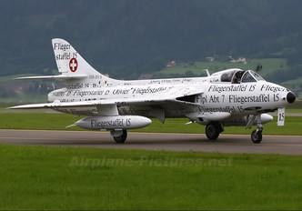 HB-RVS - Hunter Flying Club Hawker Hunter F.58