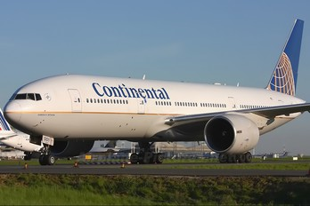 N79011 - Continental Airlines Boeing 777-200ER
