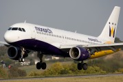 G-MONX - Monarch Airlines Airbus A320 aircraft