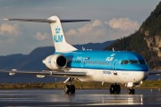 PH-KZD - KLM Cityhopper Fokker 70 aircraft