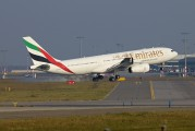 A6-EKZ - Emirates Airlines Airbus A330-200 aircraft