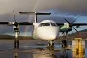 LN-WIV - Widerøe de Havilland Canada DHC-8-100 Dash 8 aircraft