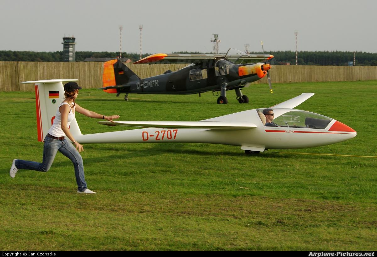 Sportfluggruppe Nordholz/Cuxhaven D-2707 aircraft at Nordholz-Spieka