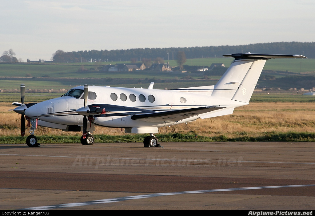 Private M-JACK aircraft at Inverness