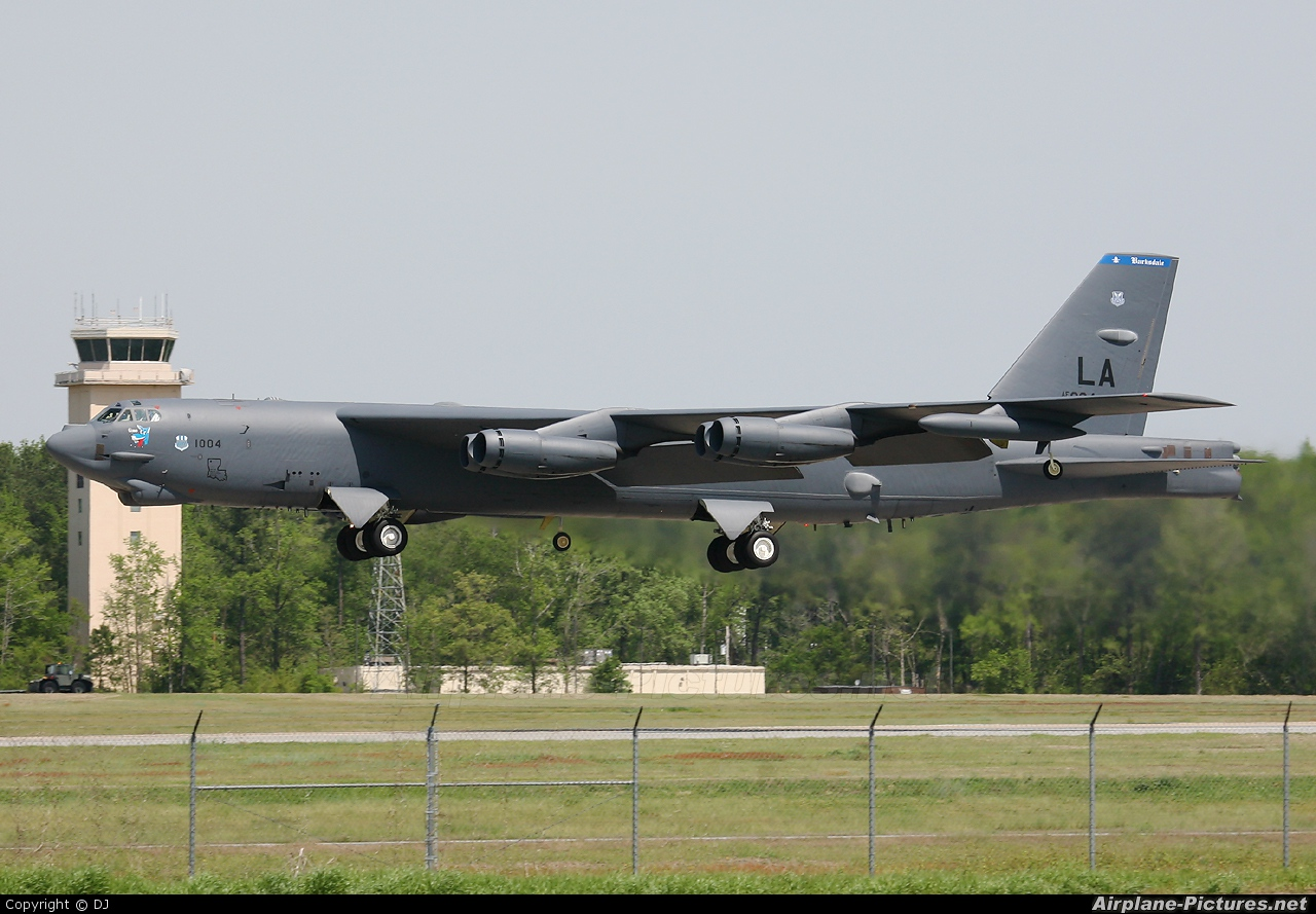 USA - Air Force 61-0004 aircraft at Goldsboro - Seymour Johnson AFB