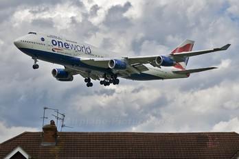 G-CIVL - British Airways Boeing 747-400