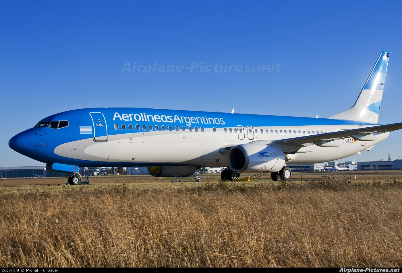 D Abbz Aerolineas Argentinas Boeing 737 800 At Prague
